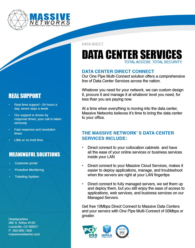 Data Center Direct Connect